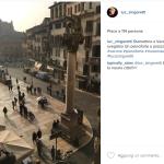 Un pianoforte in piazza... (Foto Instagram)