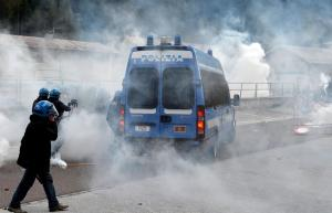 Clashes in Brennero