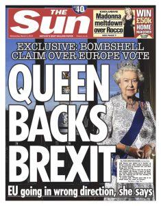 Brexit, regina Elisabetta