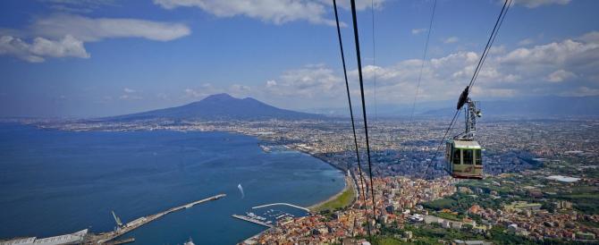 Riapre la funivia di Castellammare: vista mozzafiato sul golfo di Napoli