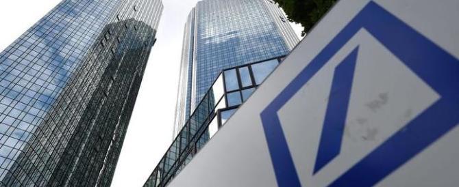 Golpe bianco del 2011, indagata la Deutsche Bank: «Manipolò i mercati»