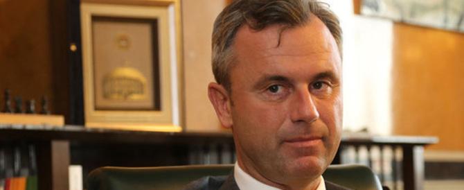 Il nazionalista Hofer scuote l'Austria: «Non escludo il referendum sulla Ue»