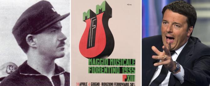 Renzi rivendica il Maggio Musicale, ma non cita Pavolini che lo inventò