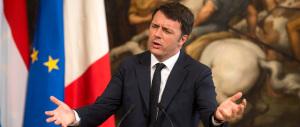 Renzi è un caso umano: «Non è vero che in Italia c'è emergenza migranti»