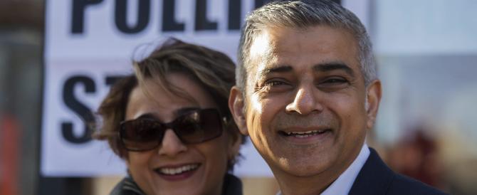 "Sadiq Khan primo sindaco islamico di Londra, da oggi ""Londonistan"""