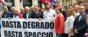 Scintille tra la Lega e i grillini. Salvini: «M5S? Una bufala»