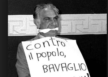 La lezione di Marco Pannella ai giovani del Msi: disobbedienza civile
