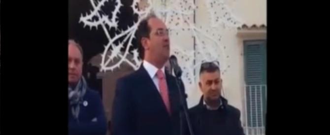 Ruvo di Puglia, la simpatica gaffe del candidato sindaco Paparella (video)