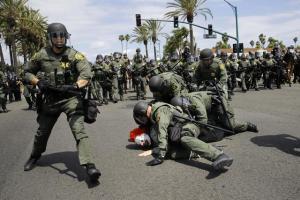 Trump California Protests