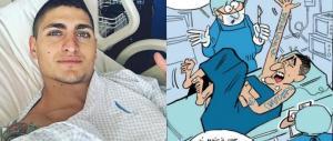 Francia, vignetta contro Verratti (e gli italiani): la becera satira dell'Equipe…