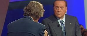 "Berlusconi a ""Virus"": «Renzi occupa militarmente tutto l'occupabile»"