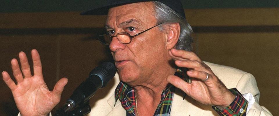 La Fondazione An ricorda Albertazzi: «Meritava di essere senatore a vita»