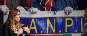 """«Votiamo no». I partigiani alla guerra del referendum al grido di """"o Boschi ciao"""""""