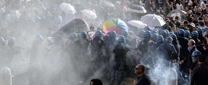 Roma, scontro sinistra-destra sulla casa. Chi copre i violenti?