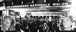 Almirante e Pannella, quel duello sul fascismo al congresso Msi (audio)