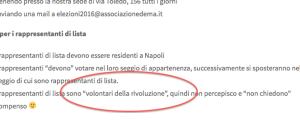"De Magistris arruola così i ""volontari"": «Siete rivoluzionari, non vi pago…»"