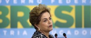 Effetto tangentopoli in Brasile, il Senato sospende la presidente Dilma