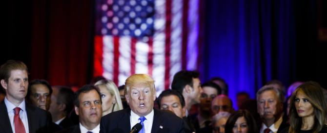 """Donald Trump in """"fuga per la vittoria"""": per i sondaggi i rivali non hanno scampo"""