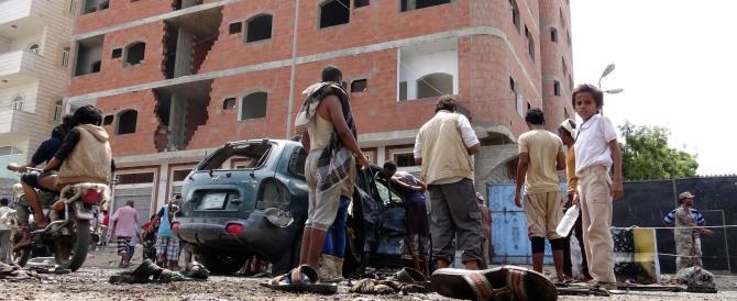 Yemen, doppio attacco kamikaze vicino un centro militare: 45 vittime