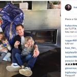 La famiglia numerosissima dei Facchinetti.  (Foto Instagram)