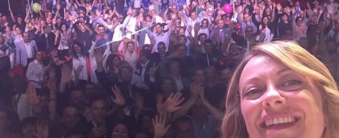 Giorgia Meloni: «Gli italiani fregati ancora da Matteo Do Nascimento»