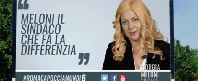 """""""Io al tedesco la multa gliela faccio…"""" Meloni-Guzzanti è già cult (VIDEO)"""