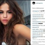 Selena Gomez incassa ad ogni scatto centinaia di migliaia di like. (Foto Instagram)