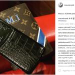 Ci sono i colori dell'Inter e la griffe Lousi Vuitton.  (Foto Instagram)