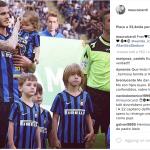 Il calciatore dell'Inter.  (Foto Instagram)