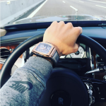 Orologio di superlusso, Rolls royce. La foto è centrata sui dettagli.  (Foto Instagram)