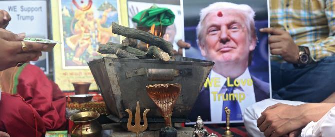 Donald Trump vince le primarie ovunque. E in India pregano per lui…