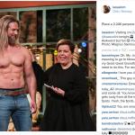 Fisico scultoreo, Lesse è diventato una star. (Foto Instagram)