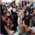 In una struttura per bambini in difficoltà a Manila.  (Foto Instagram)