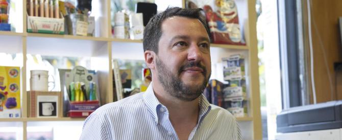 """Salvini:  """"centrodestra con contenuti chiari è l'unica alternativa a Grillo e Renzi"""""""
