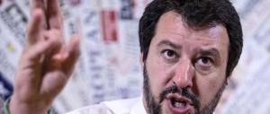 "Salvini: ""Troppa gente attorno a Berlusconi è per il sì al referendum"""