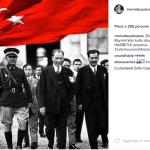 """Molti i post """"politici"""" della modella. (Foto Instagram)"""