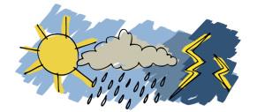 Meteo: caldo africano e forti temporali nel fine settimana