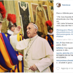 Preghiera alle Guardie Svizzere. (Foto Instagram)