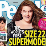 "Tess Holliday si definisce una ""Plus-size model"" (Foto Instagram)"
