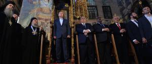 Putin in pellegrinaggio sull'Athos, il regno del silenzio (video gallery)