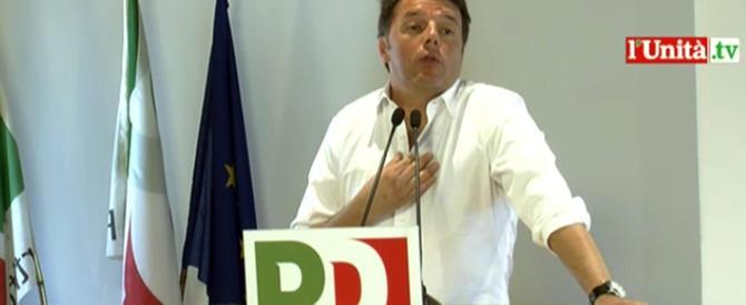 Renzi senza pudore: «Caro Pd, non abbiamo nulla di cui vergognarci»