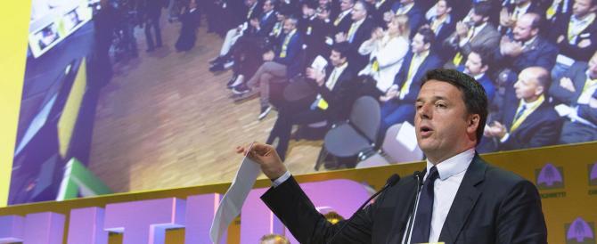 Renzi insiste: «I migranti non sono aumentati». Gasparri: «Vergognati»