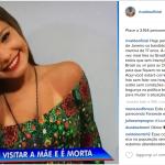 Le parole di accusa a Rio, una città non sicura. Ecco Rivaldo su instagram.