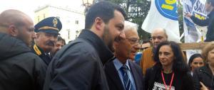 Salvini: «Se vince la Meloni festeggio ascoltando De Andrè, non Fedez»