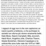 """""""Sei una modella in decomposizione.... Ti dò un consiglio: sii meno cattiva"""", risponde Valentina Vignali.(Foto Facebook)"""