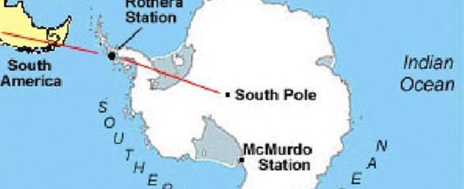 Antartide, due velivoli sfidano il gelo polare per salvare uno scienziato