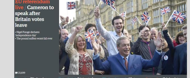 Una giornata che non scorderemo: addio al tabù di nome Europa