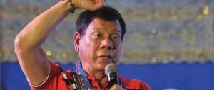 Filippine, cronisti nel mirino di Duterte: «A volte li uccidono perché sbagliano»