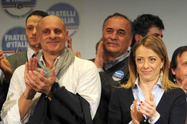 Mussolini kamikaze, Fratelli d'Italia: una squallida operazione contro di noi