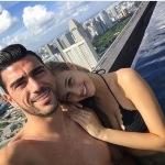 Graziano Pellè e Viktoria. (Foto Instagram)